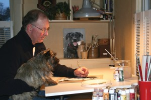 Paul Sansale - Rescue Dog Art/Classic Pet Painting Artist