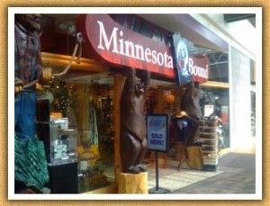 Mall of America - Minnesota Bound Store