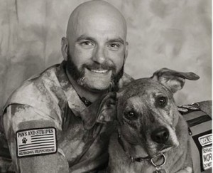 Jim & Sarge - 2014 Rescued Heroes - Veterans Edition Calendar
